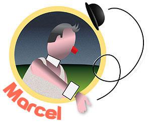 Qui est Marcel, le clown ?